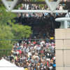 Fire Alarm Evacuates Otakon…convention war story potential.