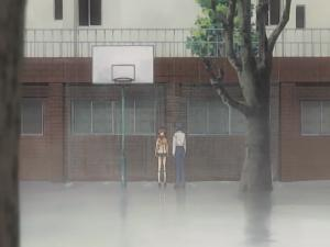 …playing basketball with the one I love