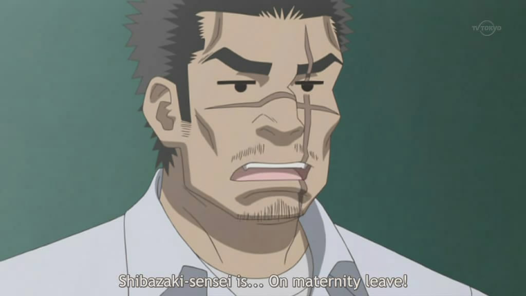 Shibazaki-sensei is MALE. You do the math.