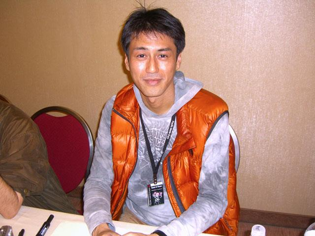 Smile, Claymore character designer Takahiro Umehara. You're on Candid Camera