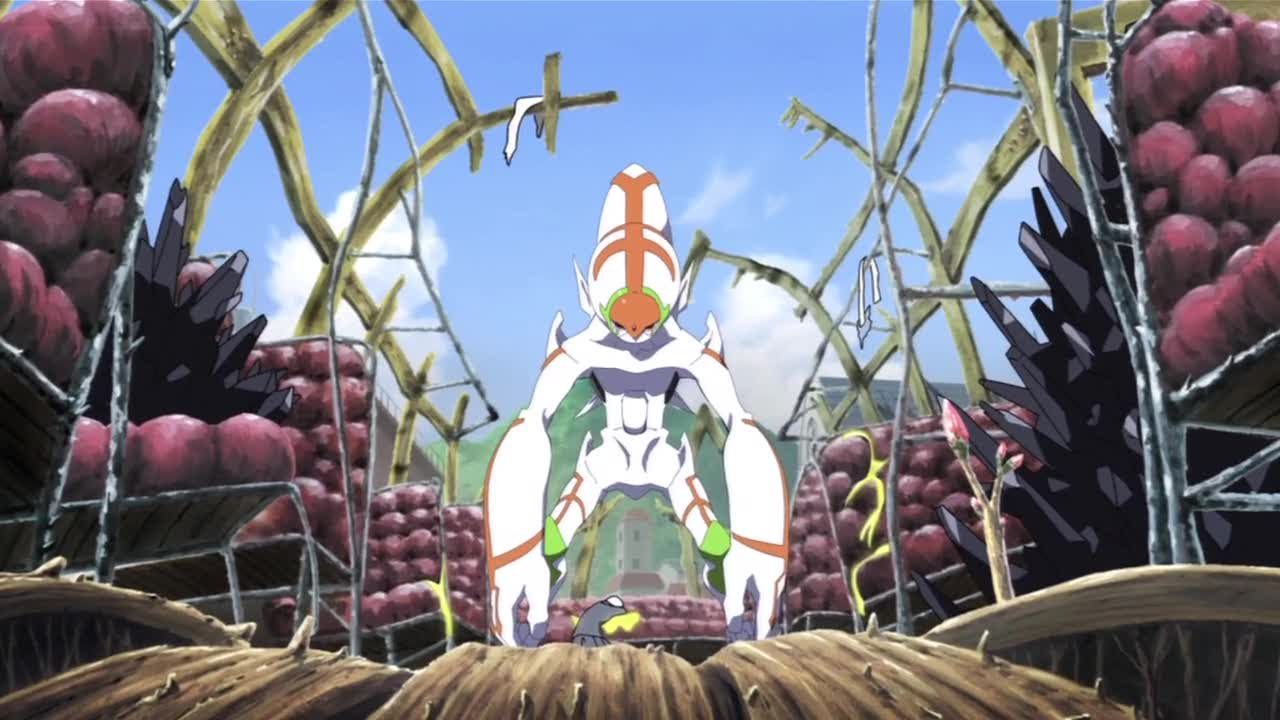 Or maybe it's like RahXephon, as imagined by the artists of Kaiba