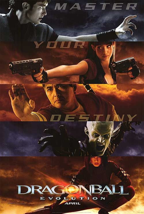 Dragonball Evolution.