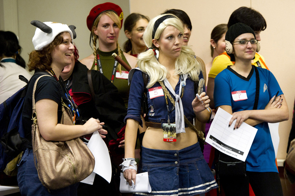 Nerd seeking nerd: Speed dating at Salt Lake Comic Con