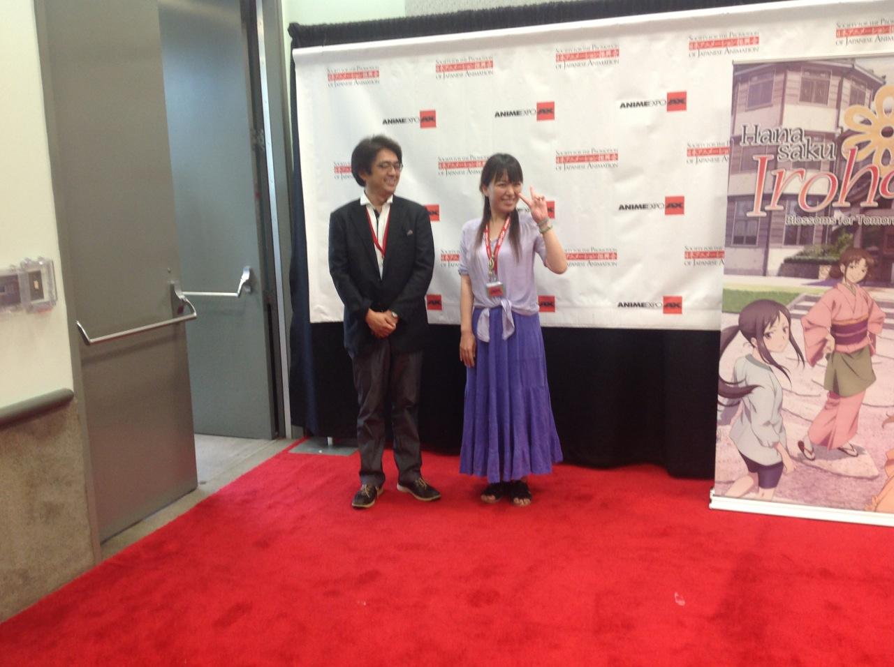 Mari Okada Mari Okada AX Fan Panel and Press Conference Liveblog