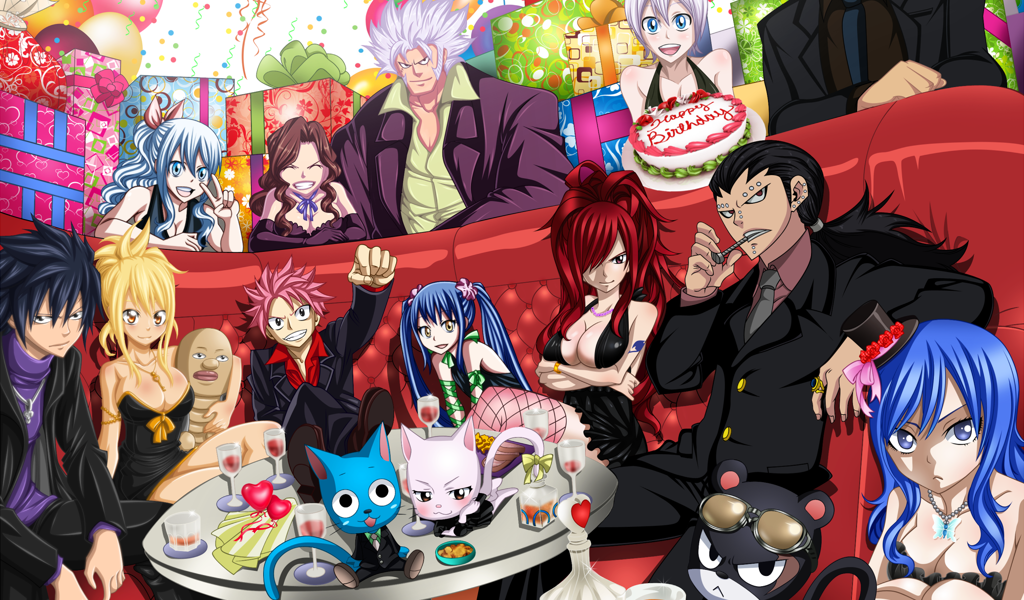 Anime Characters Bday : Happy birthday to quot fairy tail mangaka hiro mashima may