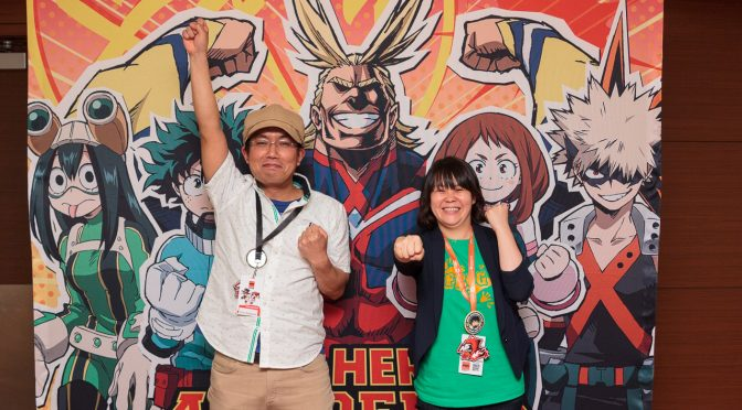"Interview: Kenji Nagasaki and Wakana Okamura of ""My Hero Academia"""